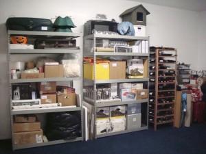 Storage after